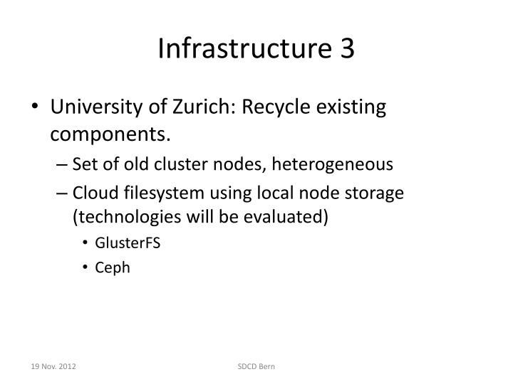 Infrastructure 3