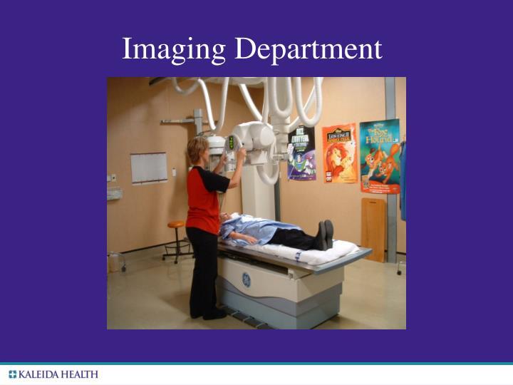 Imaging Department