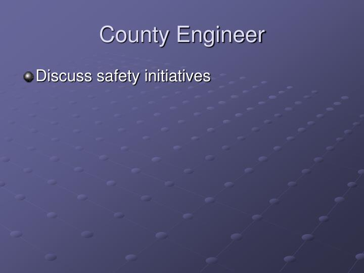 County Engineer