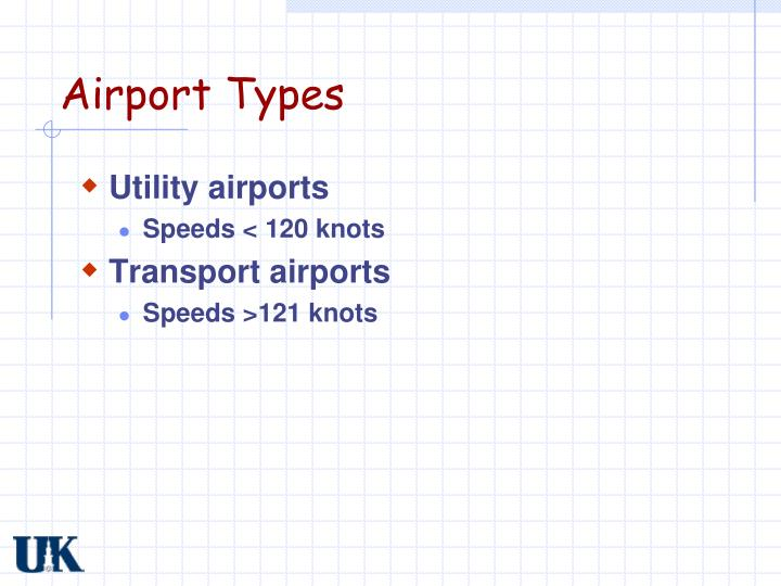 Airport Types