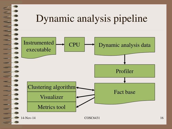 Dynamic analysis pipeline