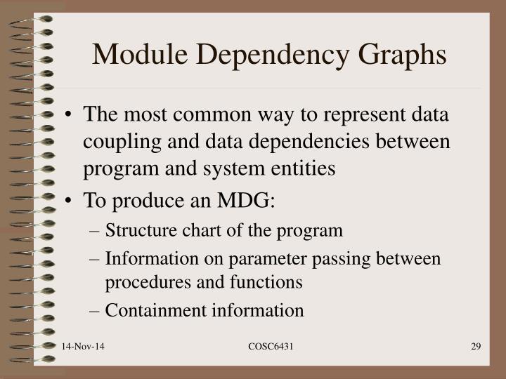 Module Dependency Graphs