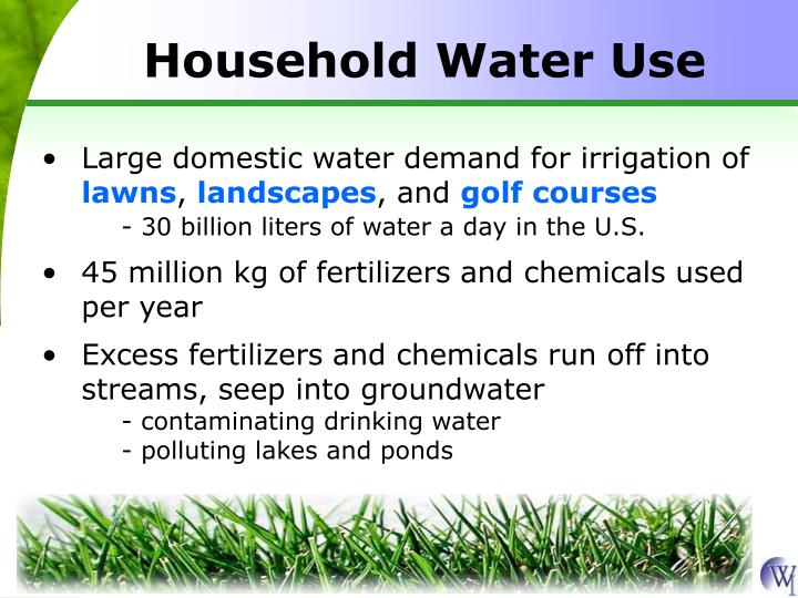 Household Water Use