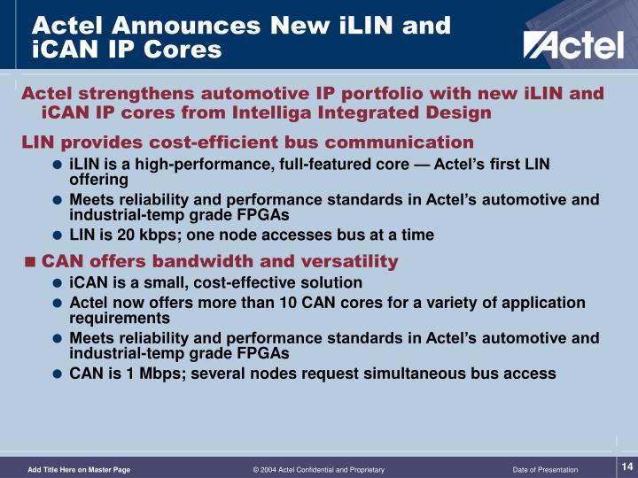PPT - Actel Automotive Solutions APA Automotive PowerPoint ...