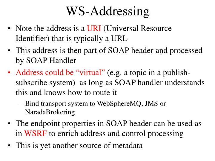 WS-Addressing