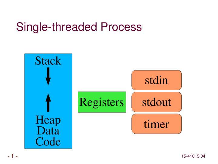 Single-threaded Process