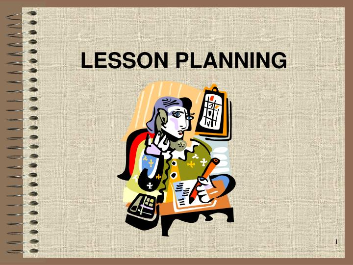 lesson planning n.