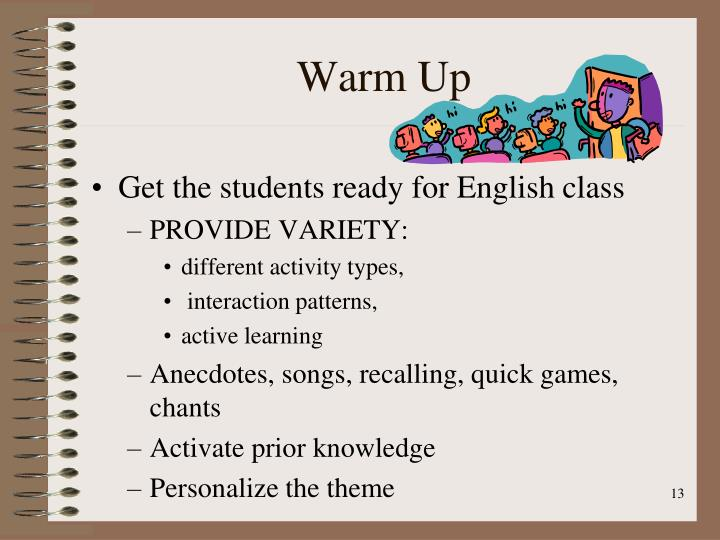 beginner english lesson plan first day This esl lesson plan teaches the names of the days of the week, the months and important holidays incorporate the five language arts strand - reading, writing, speaking, listening and viewing in these lesson plans for creating a calendar as well as a interactive classroom bulletin board.