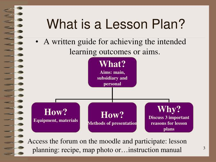 Ppt  Lesson Planning Powerpoint Presentation  Id