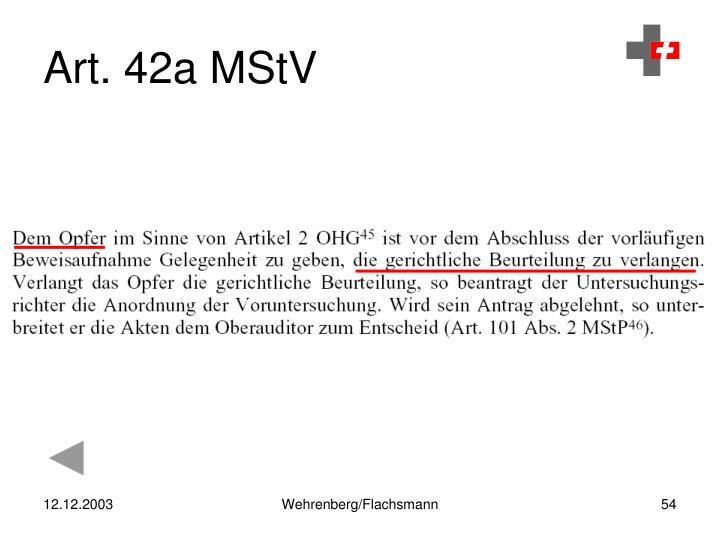 Art. 42a MStV