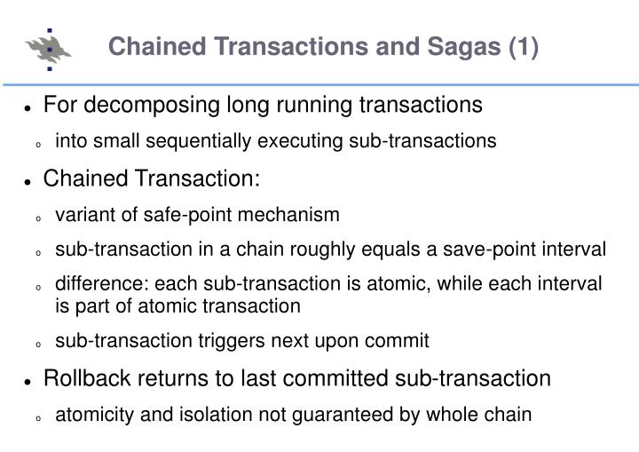 Chained Transactions and Sagas (1)