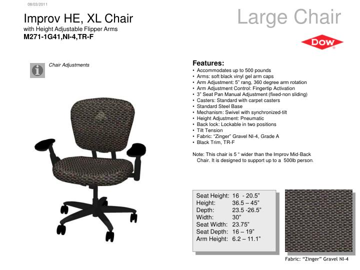 Large Chair