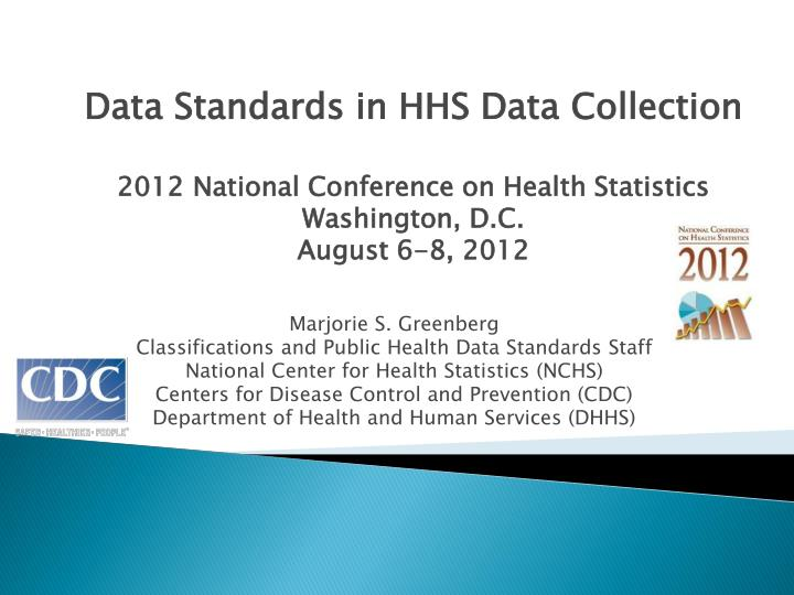 Data Standards in HHS Data