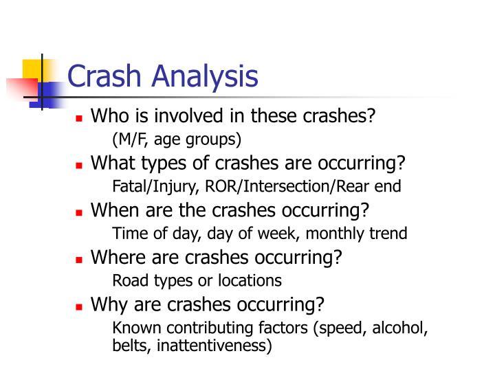 Crash Analysis