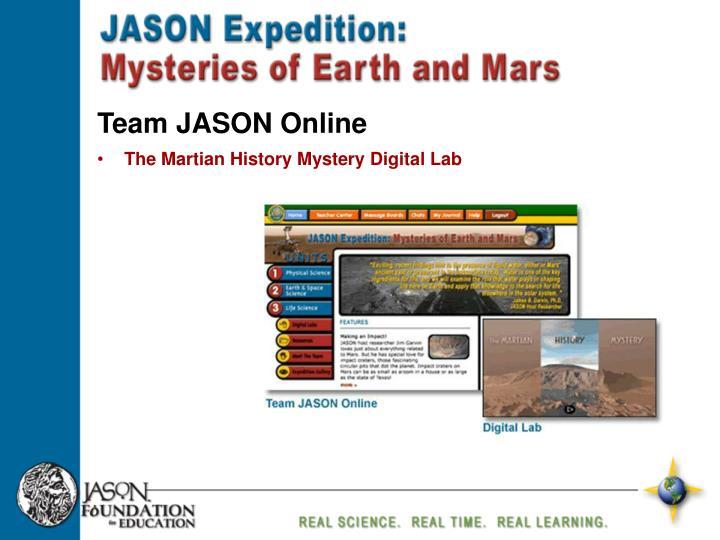 Team JASON Online