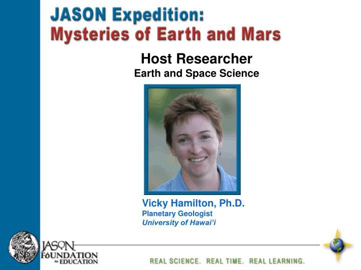 Host Researcher