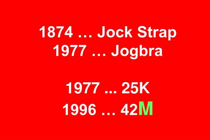 1874 … Jock Strap