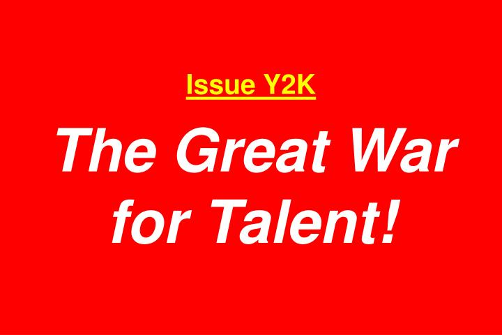 Issue Y2K