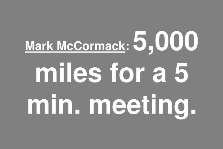 Mark McCormack