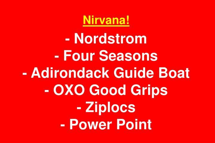 Nirvana!