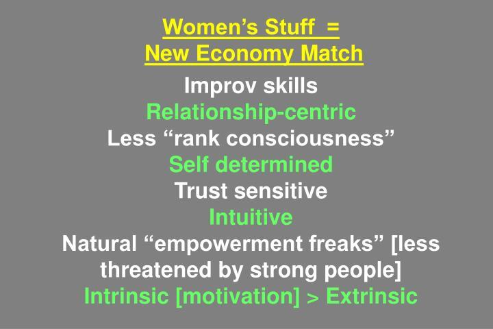 Women's Stuff  =