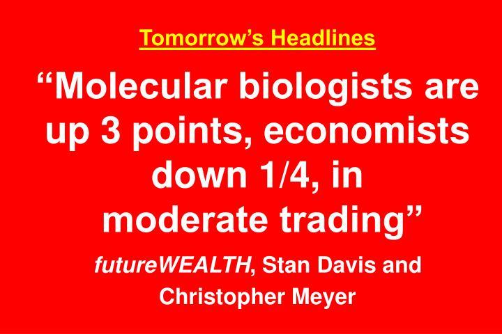 Tomorrow's Headlines
