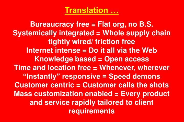 Translation …