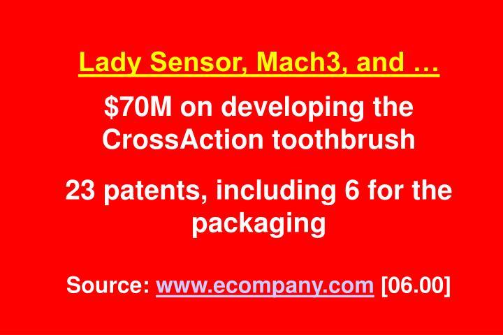 Lady Sensor, Mach3, and …