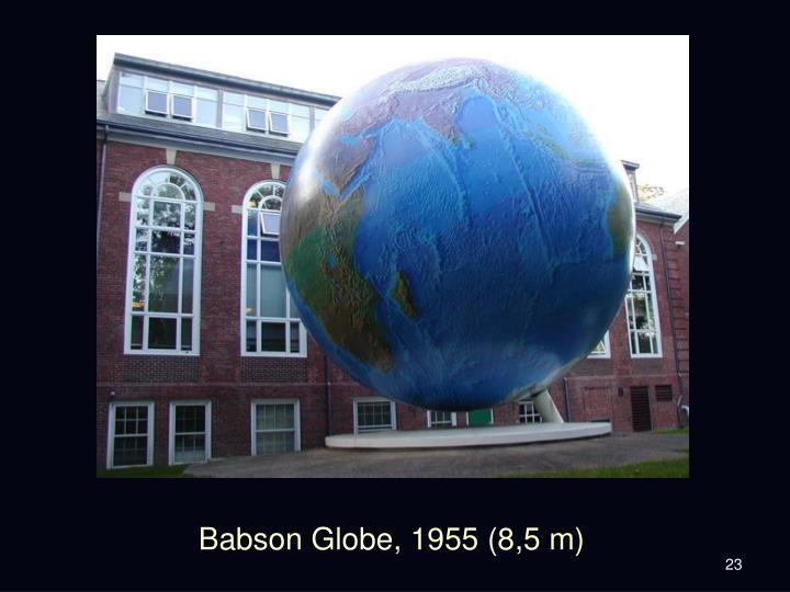 Babson Globe, 1955 (8,5 m)