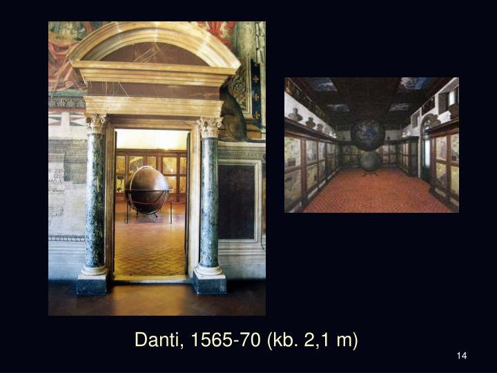 Danti, 1565-70 (kb. 2,1 m)