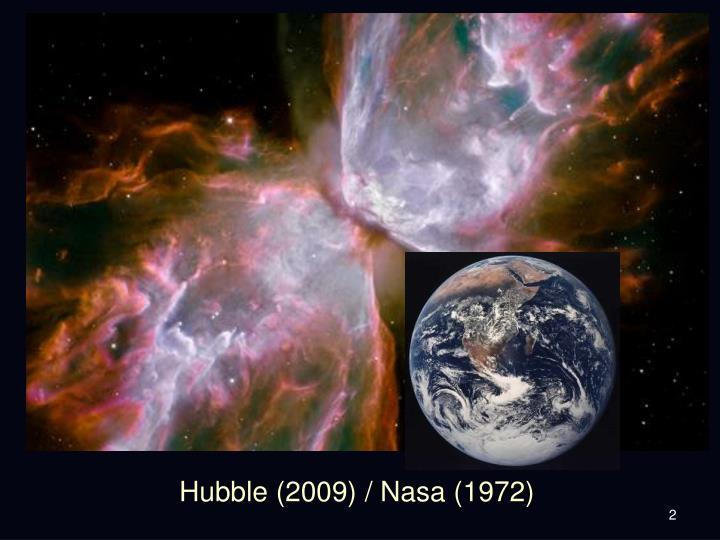 Hubble 2009 nasa 1972