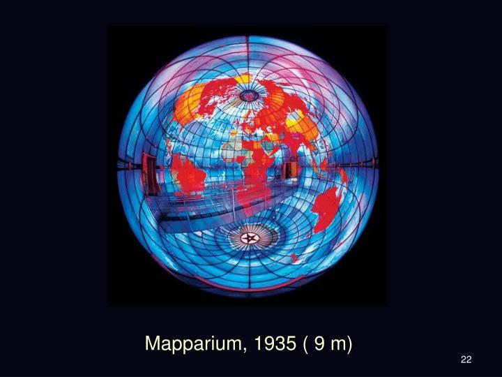 Mapparium, 1935 ( 9 m)
