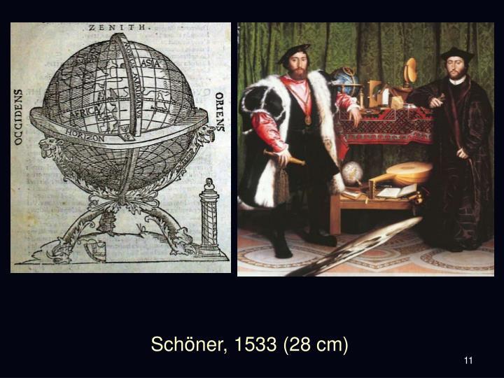 Schöner, 1533 (28 cm)