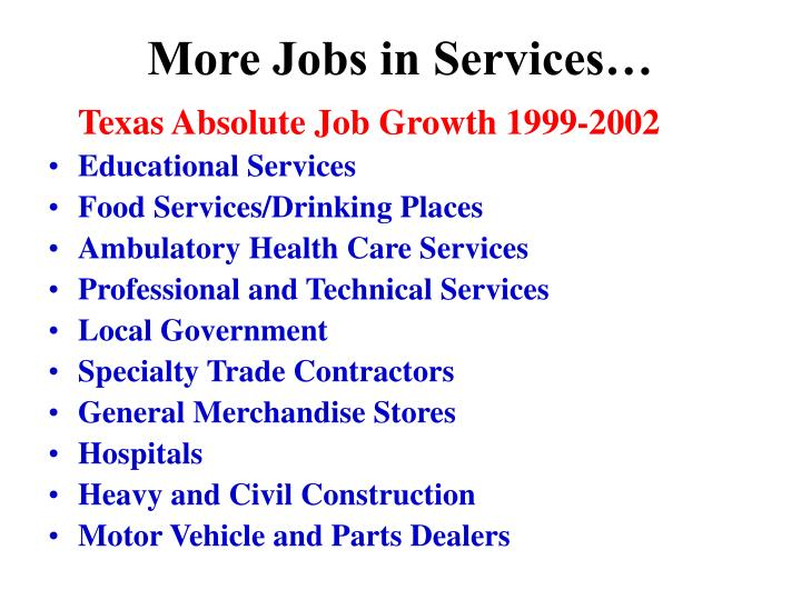 More Jobs in Services…