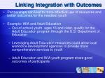 linking integration with outcomes