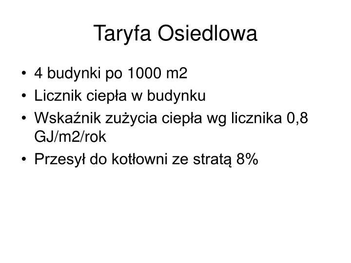 Taryfa Osiedlowa