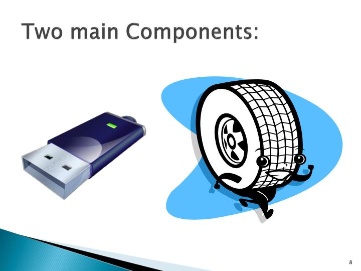 Two main Components: