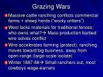 grazing wars