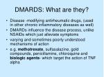 dmards what are they