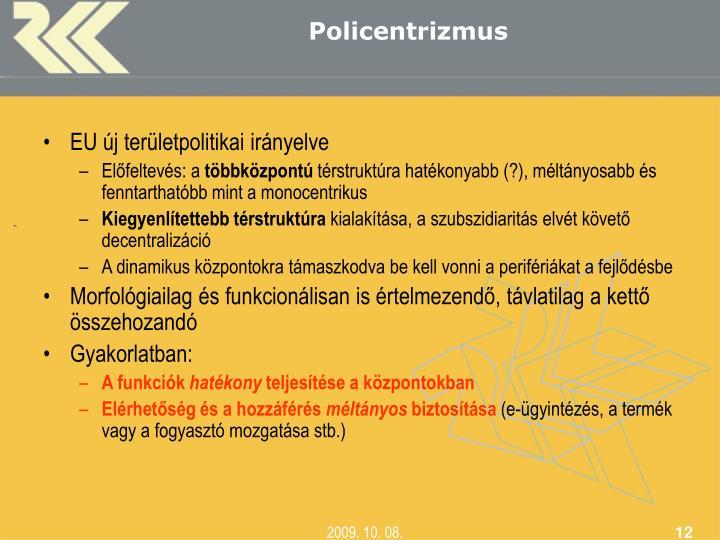 Policentrizmus