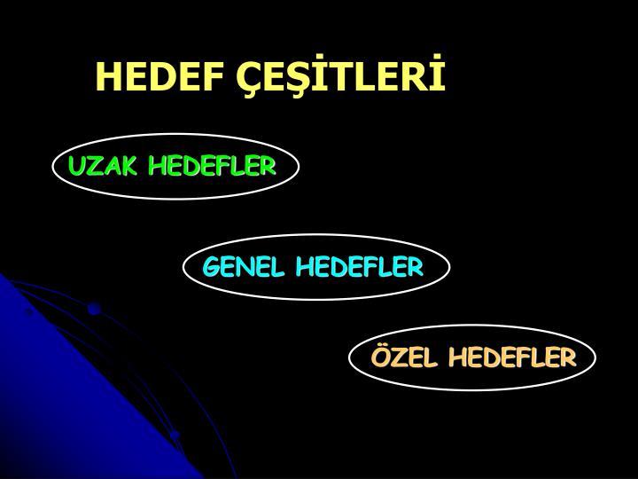UZAK HEDEFLER