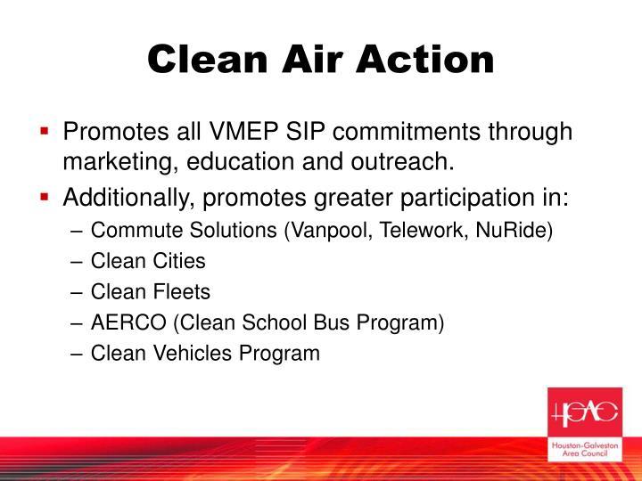 Clean Air Action