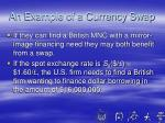 an example of a currency swap1