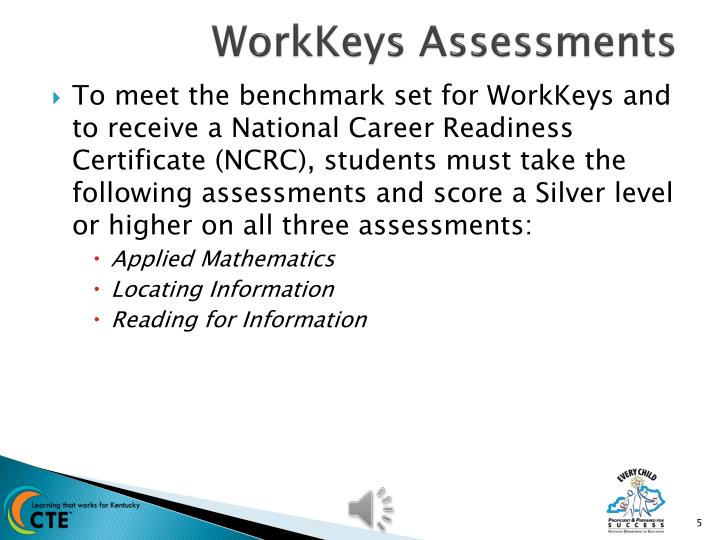 WorkKeys Assessments