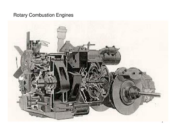 Rotary Combustion Engines