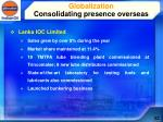 globalization consolidating presence overseas