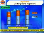 pipelines underground highways