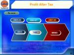 profit after tax