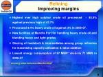 refining improving margins
