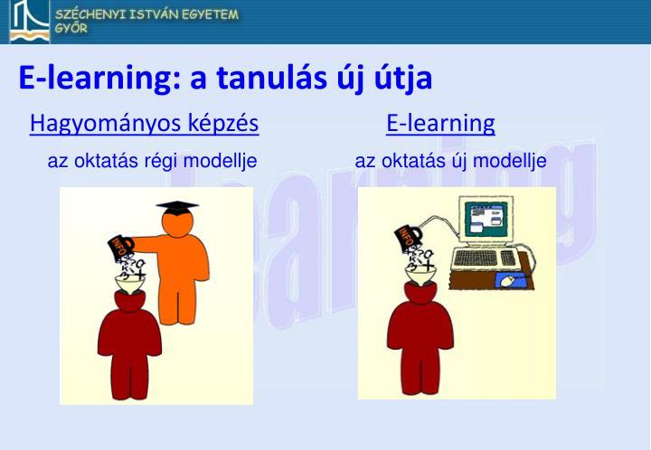 E-learning: a tanulás új útja